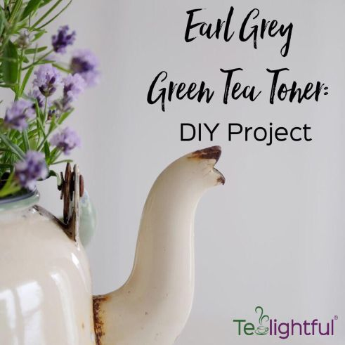 Earl Grey Green tealightful tea diy beauty