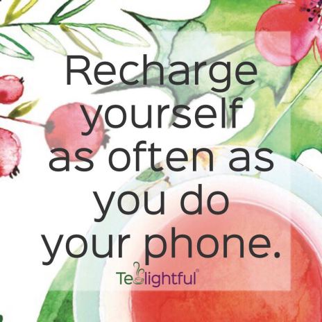 Recharge with Tealightful