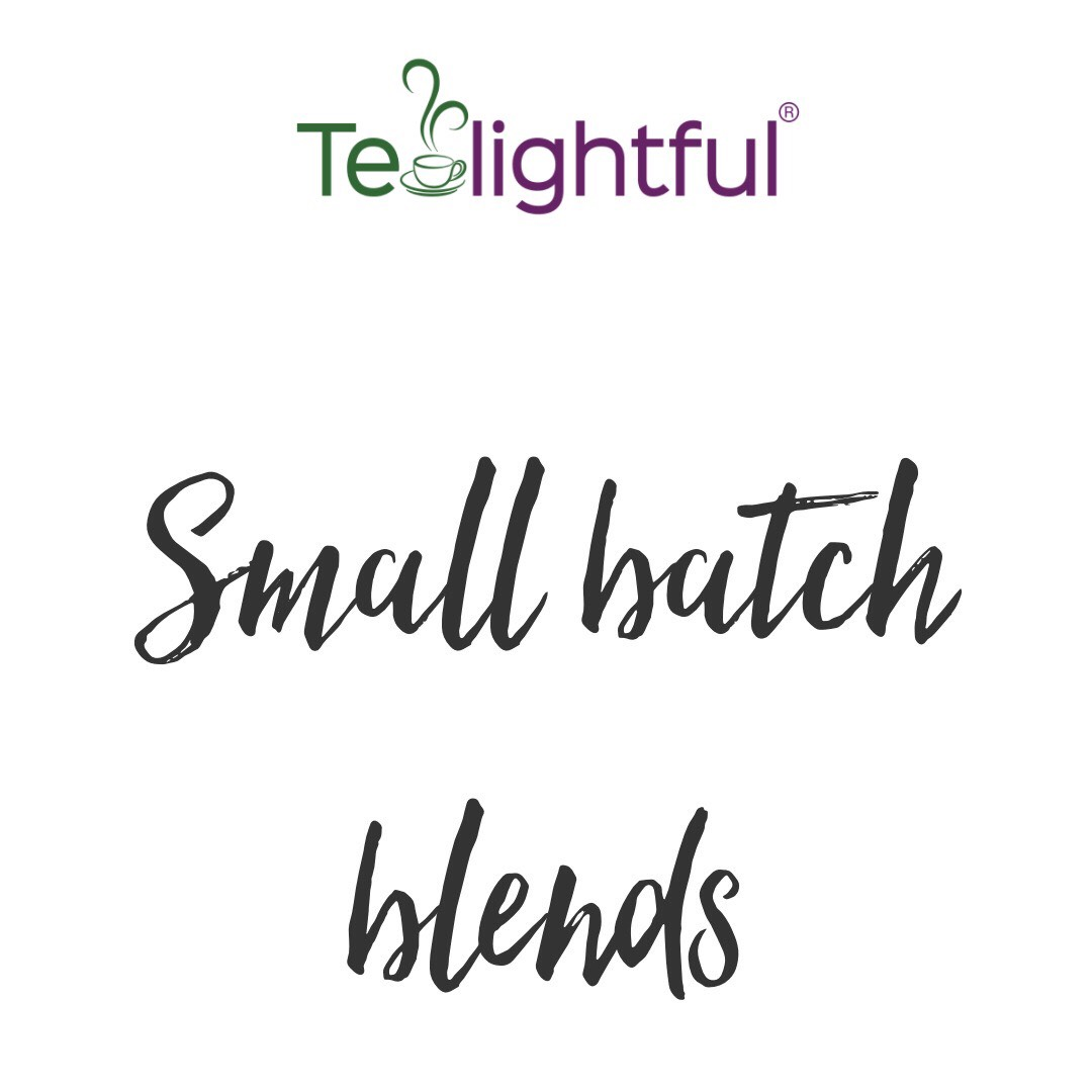 Tealightful small batch blended tea